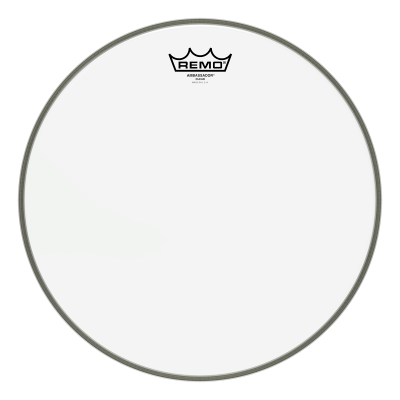 Remo AMBASSADOR Drum Head - Clear 12 inch