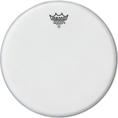 Remo AMBASSADOR X Bass Drum Head - Coated 18 inch