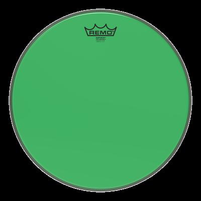 Remo Emperor Colortone Green Drumheads