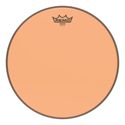 Remo Emperor Colortone Orange Drumheads