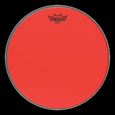 """Remo Emperor Colortone Red Drumhead 14"""""""