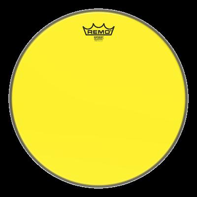 Remo Emperor Colortone Yellow Drumheads