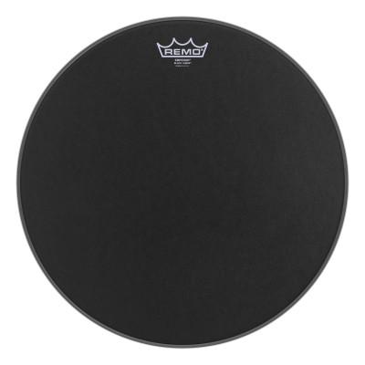 Remo EMPEROR Bass Drum Head - BLACK SUEDE 16 inch