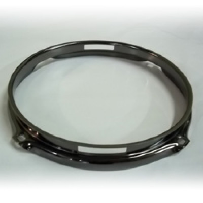 "8"" 4 Lug 2.3MM Flanged Hoop Snare Side Black Nickel - S2308S-4B"