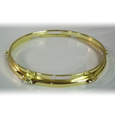 "10"" 6 Lug 2.3MM Flanged Hoop Snare Side Brass - S2310S-6BR"