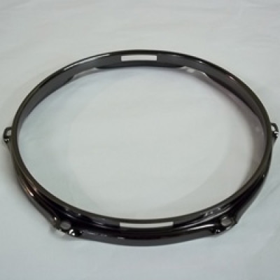 "10"" 6 Lug 2.3MM Flanged Hoop Snare Side Black Nickel - S2310S-6B"