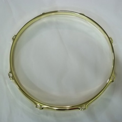 "12"" 8 Lug 2.3MM Flanged Hoop Brass - S2312-8BR"