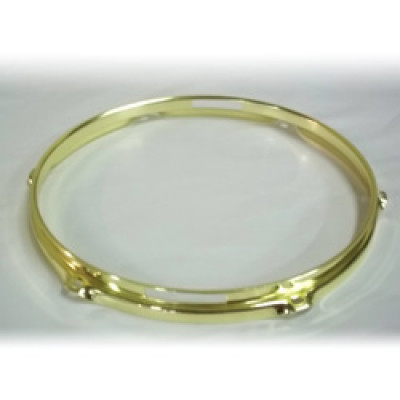 "12"" 6 Lug 2.3MM Flanged Hoop Snare Side Brass - S2312S-6BR"