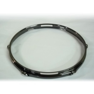 "12"" 6 Lug 2.3MM Flanged Hoop Snare Side Black Nickel - S2312S-6B"