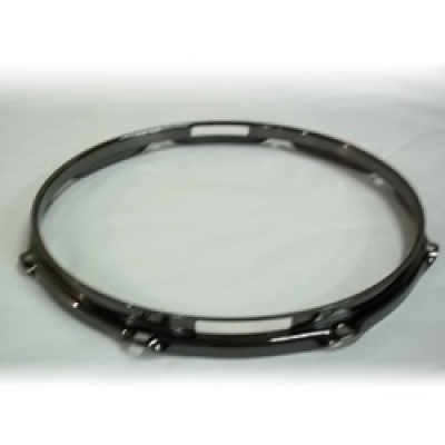 "12"" 8 Lug 2.3MM Flanged Hoop Snare Side Black Nickel - S2312S-8B"