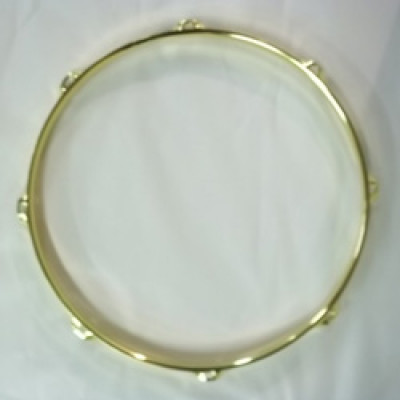 "13"" 8 Lug 2.3MM Flanged Hoop Brass - S2313-8BR"