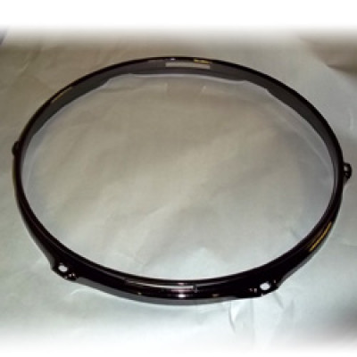 "13"" 6 Lug 2.3MM Flanged Hoop Snare Side Black Nickel - S2313S-6B"