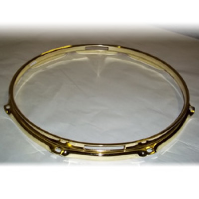 "13"" 8 Lug 2.3MM Flanged Hoop Snare Side Brass - S2313S-8BR"