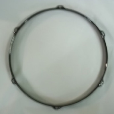 "14"" 6 Lug 2.3MM Flanged Hoop Black Nickel - S2314-6B"