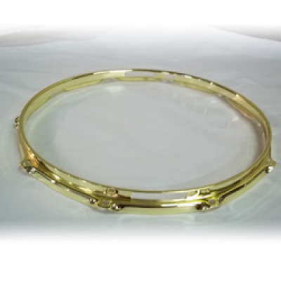"14"" 10 Lug 2.3MM Flanged Hoop Snare Side Brass - S2314S-10BR"