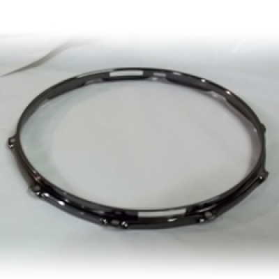 "14"" 10 Lug 2.3MM Flanged Hoop Snare Side Black Nickel - S2314S-10B"