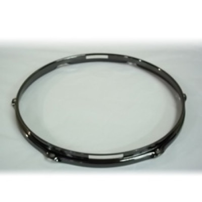 "14"" 6 Lug 2.3MM Flanged Hoop Snare Side Black Nickel - S2314S-6B"