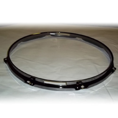 """14"""" 8 Lug 2.3MM Flanged Hoop Snare Side Black Nickel - S2314S-8B"""