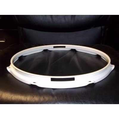 "14"" 10 Lug 2.3MM Flanged Hoop Snare Side Powder Coated White"