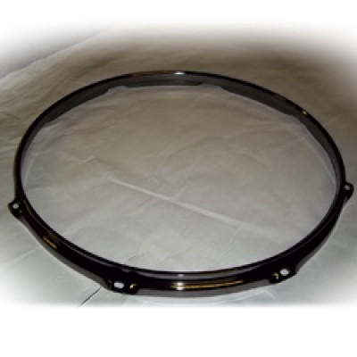 "15"" 8 Lug 2.3MM Flanged Hoop Black Nickel - S2315-8B"