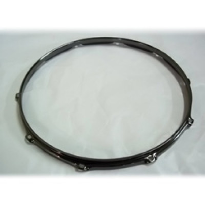 "16"" 10 Lug 2.3MM Flanged Hoop Black Nickel - S2316-10B"