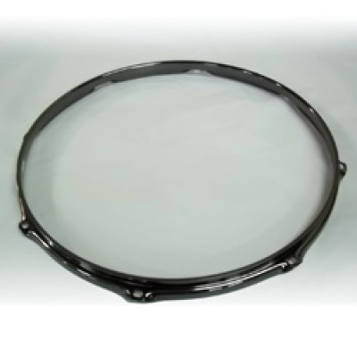 "16"" 8 Lug 2.3MM Flanged Hoop Black Nickel - S2316-8B"
