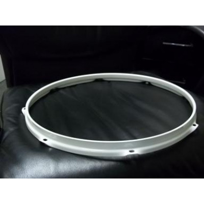 "16"" 8 Lug 2.3MM Flanged Hoop Powder Coated White - S2316-8WH"