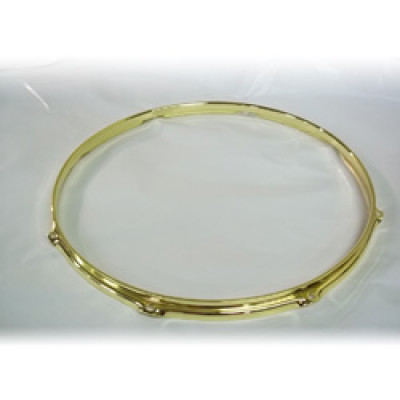 "18"" 8 Lug 2.3MM Flanged Hoop Brass - S2318-8BR"