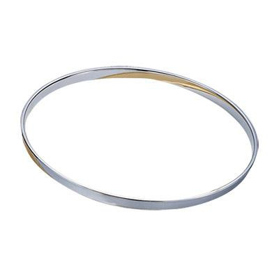 "12"" 2.5mm Single Flange Hoop - Chrome"