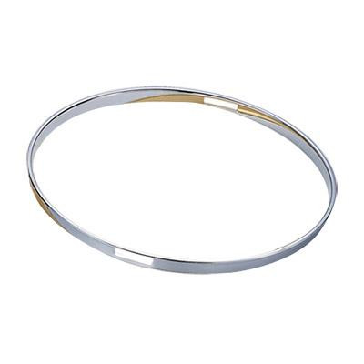 "12"" 2.5mm Single Flange Hoop Snare Side - Chrome"