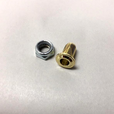 "Small Threaded Air Vent 3/8"" - Brass"