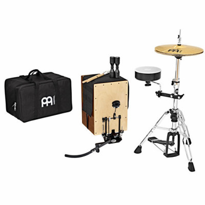 Meinl Cajon Drum Set With TMSTCP Direct Drive Pedal