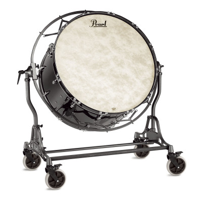 Pearl Concert Bass Drums w/ Suspended Field Frame - Midnight Black