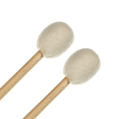 Regal Tip 607SG #7 Brilliant Staccato Saul Goodman Timpani Mallet Replacement Head - Pair