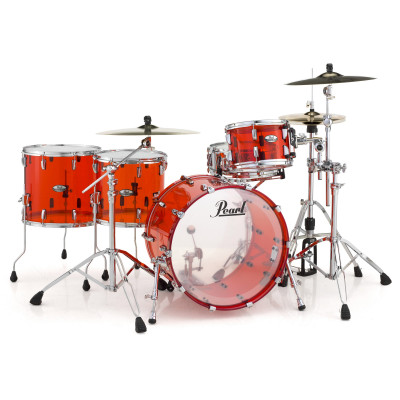 Pearl CRB Crystal Beat Series 4pc Two on the Floor Shell Pack