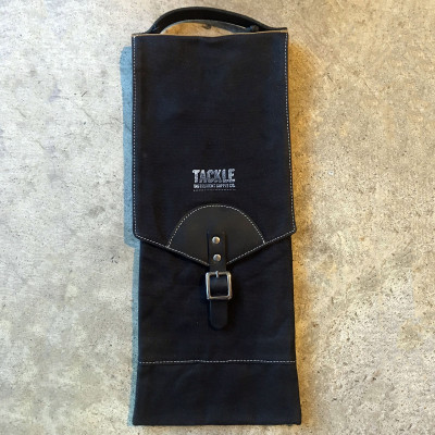Tackle Waxed Canvas Compact Stick Case - Black