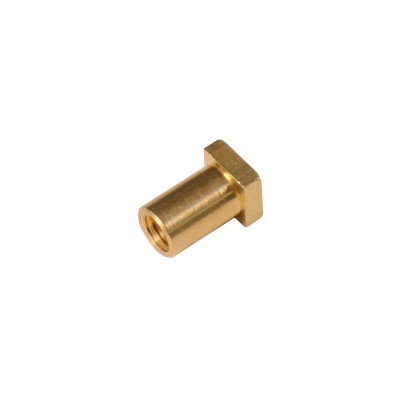 Pearl Brass Swivel Nut for Bass Drum - M6 Thread