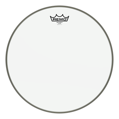 Remo DIPLOMAT Drum Head - Clear 13 inch