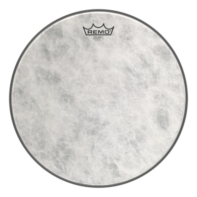 Remo FIBERSKYN Drum Head - FT Extra Thin 15 inch