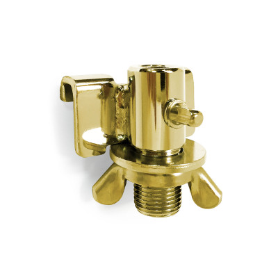 DSS Floor Tom Leg Bracket - Brass