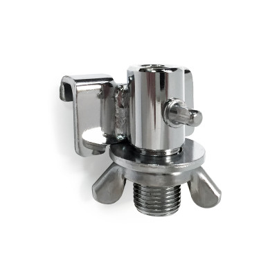 DSS Floor Tom Leg Bracket - Chrome