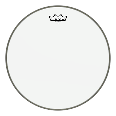 Remo EMPEROR Drum Head - Clear 15 inch