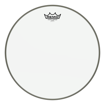 Remo Vintage EMPEROR Drum Head - Clear 12 inch