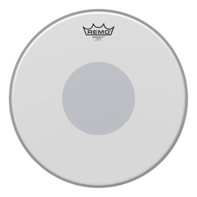 Remo Emperor X Coated Drumheads w/ Black Bottom Dot