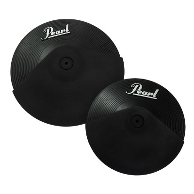 "Pearl EPC Plastic - 14"" 3 Zone Ride &  12"" 2 Zone Crash"