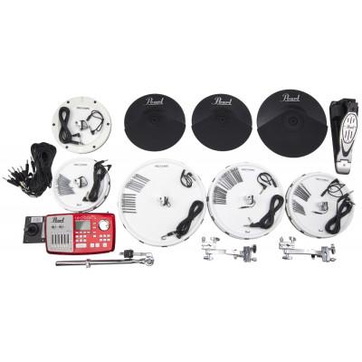 Pearl Tru-Trac Electronic Conversion Kit - 10,12,14,16,Bass w/ Plastic Cymbals