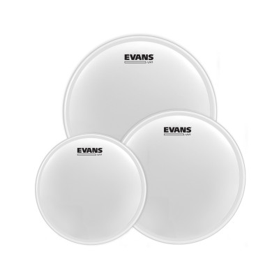 "Evans UV1 Coated Tom Pack-Fusion (10"", 12"", 14"")"