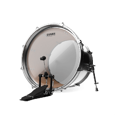 "Evans 28"" EQ4 Clear Bass Drum Head"