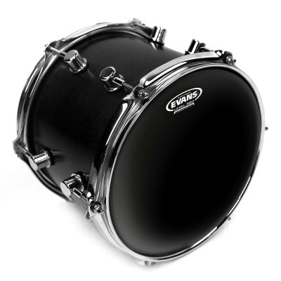 Evans Black Chrome Drumheads