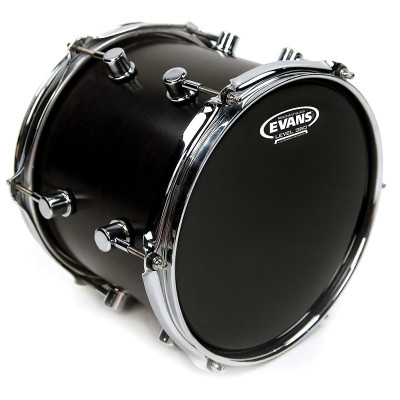 "Evans 16"" Resonant Black - TT16RBG"